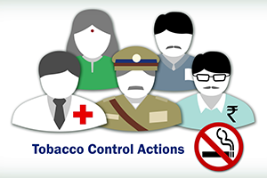 Implementing Health Policies: Tobacco Control Course in India